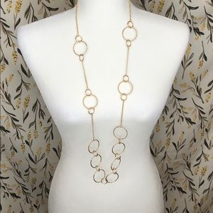 Nwt! Charming Charlie necklace set gold chain